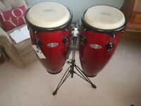 PAIR CONGA DRUMS BY SYNERGY