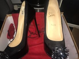 2 pairs of louboutins