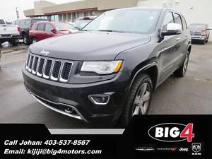 2014 Jeep Grand Cherokee Overland, Panoroof, Air Ride, Leather