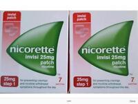 Nicorette Invisi 25mg nicotine patches