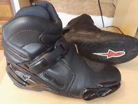Alpinestars S-MX 2 Short Motorcycle Boots Size 43