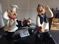 Kitchen ornaments & wine holder