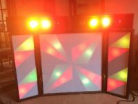 Ryger Foot Controller and Five Light Boxes with all the Cabling
