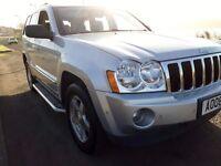2008 Jeep Grand Cherokee 3.0 CRD Diesel LIMITED 4x4 auto FULL SPEC Nav and DVD screen, 89k mot Dec