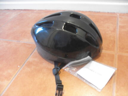 BLACK ADJUSTABLE BICYCLE HELMET CYLING HELMET BIKE SAFETY HELMET Melbourne Region Preview