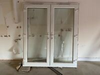 French Doors uPVC White H206 W180