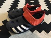 Boys Adidas Sports slippers