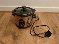 1.5 litre Vonshef slow cooker, excellent condition - £5