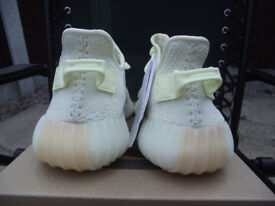 Official Adidas Yeezy Boost 350 V2 Butter trainers UK size 7.5 with receipt