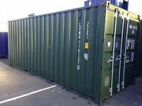 20FT X 8FT SHIPPING CONTAINERS / STORES FOR SALE £1400