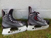 Ice hockey starter kit Jr (skates, shin pads, gloves, shoulder pads)