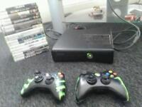 Xbox 360 console 250gb with 18 games