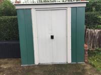 6x4 Metal shed.