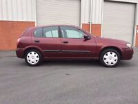 2003(53) Nissan Almera 1.5 Manual With 12 Month MOT PX Welcome