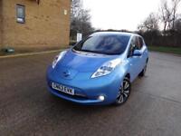 Nissan Leaf Tekna 5dr (blue) 2013