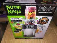 Nutri Ninja Blender with Auto IQ Brand new sealed in box.