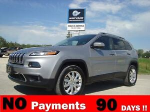 2014 Jeep Cherokee Limited 4x4 *Loaded/Navigation*
