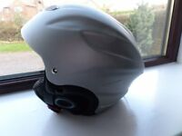 Silver ski helmet by Trespass - size small - 48cm - 52 cm