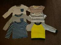 Boys 12-18 Months Long/Short Sleeve Tops & Bodysuits