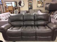Leather suite sale