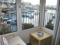 Holiday Cottage on Brixham quay - Sleeps four with private parking and fantastic views