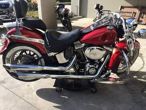HARLEY DAVIDSON SOFTAIL DELUX 02/2012MDL PROJECT MAKE AN OFFER Campbellfield Hume Area Preview