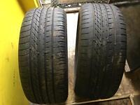 Goodyear excellence 245 40 19 run flat rft BMW tyres matching pair f10 BMW Gt run flat RFT TYRES x2