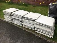 Free - Porcelain floor tiles - (used/recycled)