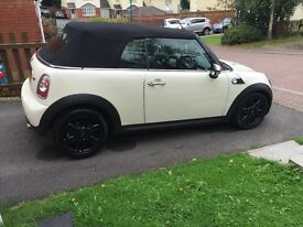 Mini one convertible 2012