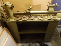 Myford ML8 Wood Turning Lathe and Cabinet Stand