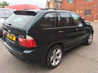 BMW X5 Automatic Leather Good Condition with Satnav Bluetooth and mot