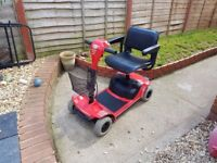 red rascal taxis 4 mobility scooter very good condition