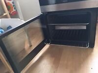 Gas zannusi cooker professionally cleaned, serviced only selling as new property is electric
