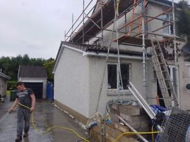 C&S roughcasting and plastering