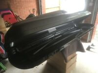 Genuine Mercedes Roof Bars and Box