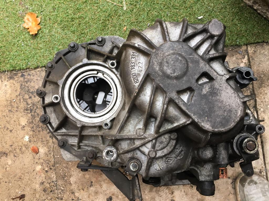 Renault Master 5speed gearbox
