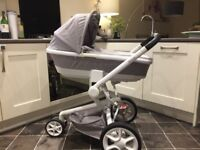 Full Travel System Quinny Moodd 3in1 inc Maxi Cosi Car Seat, in great condition