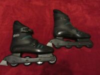 Inline Skates Size 9 Roller Derby Streets Hardly Used