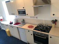 NO FEES! Immaculate F/Furnished one bed flat. RENT INCLUDES VIRGIN 200mps B/BAND AND WATER.