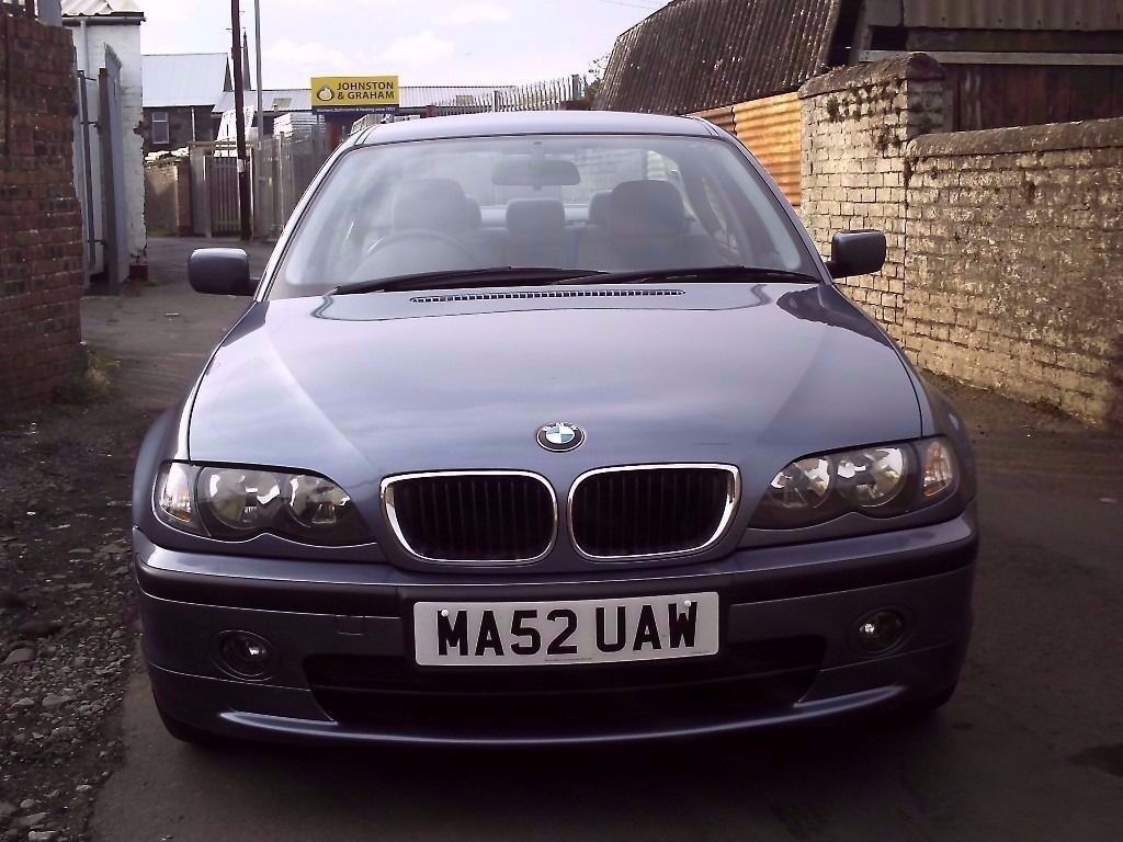 2002 52 BMW 320 2.2 SE ** ONLY 71500 MILES ** MOT NOVEMBER 2017 **