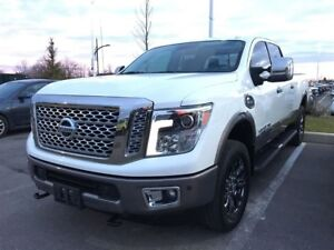Nissan Titan Xd platinum reserve loaded diesel 2016