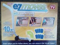 New AS SEEN on TV EZ Moves Furniture Moving System with Lifter Tool & 8 Slides only £9