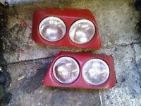 Mk2 Astra GTE 16v twin headlights