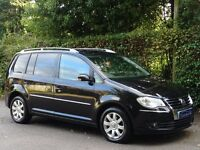 2008 (58) Volkswagen Touran 2.0 TDI Sport DSG 5dr (7 Seats) - 1 OWNER FROM NEW - AUTOMATIC GEARBOX