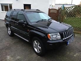 2004 Jeep Grand Cherokee 4.7 v8 LPG Limited XS