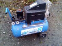 Air Compressor, Kinzo oil free 20 ltr Compressor