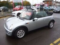 Mini cooper,1.6cc convertible,stunning mini,FSH,convertible for summer,hood up for winter,MM06YDK
