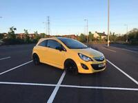 Vauxhall Corsa LIMITED EDITION Yellow 2014 REDUCED!!