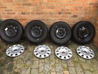 volkswagen golf 4 wheels and hubcaps