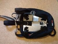 Single Tank Wing/Backplate DIR Rig - SCUBA BCD buoyancy compensator